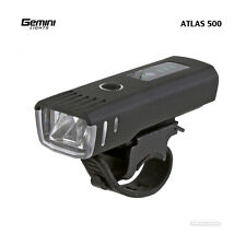 Gemini Lights ATLAS 500 Lumens Compact USB Rechargeable Road Cycling Headlight