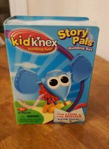 Kid K'nex Story Pals building set The Lion & Mouse + book NIB