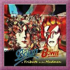 Marc Bolan David Bowie A Tribute To The Madmen Box 3 CD + Libro  Nuovo Sigillato