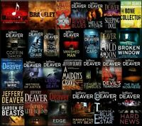 Jeffrey Deaver Audiobook Collection 39 Titles Unabridged Complete Audio Books