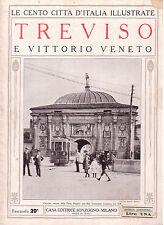 Le Cento Città d' Italia Illustrate  TREVISO