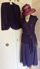 JACQUES VERT Skirt Lace Top & Bolero Suit Mother of the Bride Wedding Size 16 18