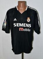 REAL MADRID SPAIN 2004/2005 AWAY FOOTBALL SHIRT JERSEY ADIDAS SIZE XXL ADULT