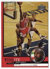 Michael Jordan 1999 Upper Deck Tribute Return to the NBA Basketball Card