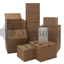 XL EXTRA LARGE HOUSE HOME REMOVAL MOVING PACKING STORAGE KIT 40 CARDBOARD BOXES