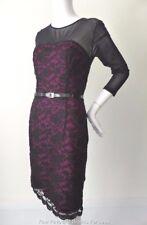 JANE LAMERTON PETITES Women's Dress Size 10 US 6  Long Sleeve Lace  Sheath