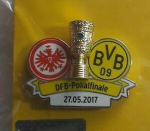 Eintracht Frankfurt- Borussia Dortmund 27.05.2017 DFB Pokalfinale Pin Fußball
