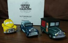 Department 56 Christmas in the city Village Automobiles 3 Piece 59641