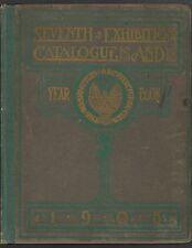 Washington Architectural Club 1908 vtg antique DC Architecture Yearbook Catalog