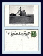 NEW MEXICO FOLSOM POSTED 1910 TO MISS MARY YOUNG OF GRAND RAPIDS MICHIGAN