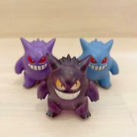 Pokemon Monster Collection Moncolle Gengar 3 set Normal Clear Different Color