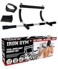 Upper Body Workout Bar Door Gym Push Sit Ab Straps Non-Slip Foam Grip