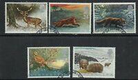 GB 1992 Commemorative Stamps~Wintertime~Very Fine Used Set~UK Seller