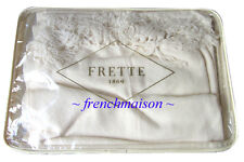 FRETTE ITALIAN Luxury 100% CASHMERE Ivory Shawl Scarf Wrap Throw Purchased Italy