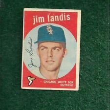 JIM LANDIS - 1959 - TOPPS - BASE - CARD # 493 - CHICAGO WHITE SOX - MLB