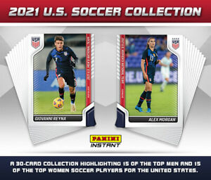 2021 Panini Instant US SOCCER COLLECTION - 30-Card Set (In hand)