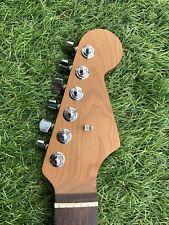 Warmoth Roasted Maple Dark Rosewood Stratocaster Neck