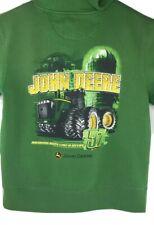 JOHN DEERE Green Hoodie - Men's Size Medium Pullover Hooded Sweatshirt Tractor