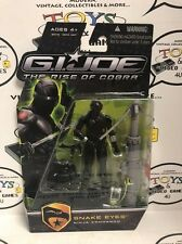 G.I. Joe The Rise Of Cobra Snake Eyes Ninja Commando Action Figure (Lot B)