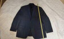 IZOD Solid BLUE  2-Button SPORT COAT Blazer JACKET 46 R