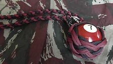 "Boule Billard N°7 ø52 mm Lanyard ""Self Defense/Survie"""