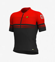 Ale Cycling Slide Men Short Sleeves Jersey  Graphics PRR|Black/Red|BRAND NEW