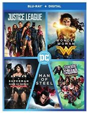 DC 5-Film Collection [New Blu-ray] Boxed Set, Slipsleeve Packaging