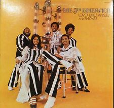 THE 5TH DIMENSION LOVE'S LINES, ANGLES AND RHYMES 1971 SOUL POP LP BELL 6060