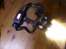 TRIPLE LED CREE T6 Head Torch SET with charger & TWO batteries