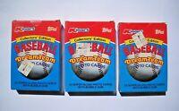 1989 Kmart Dream Team Baseball Card Set Lot (3 Sets, 33 Cards each)