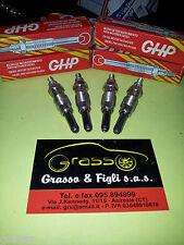 x4 Candelette Candeletta Preriscaldo glühkerzen glow plug FIAT LANCIA FORD GHP