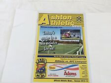 Ashton Athletic v AFC Liverpool North West Counties League April  2013