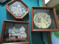 DAVID WINTER COTTAGES ENGLAND SCULPTURE IN SHADOW BOX PICK1
