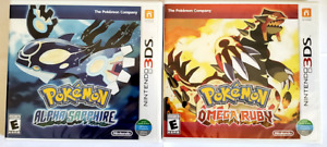 🔥 Pokemon Alpha Sapphire and Omega Ruby 3DS. (2 Games) Lot  SEALED