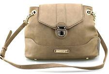 Ladies Girls LYDC Anna Smith Leather Style Satchel Shoulder Handbag Black