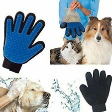 PET Grooming Glove 2-in-1 Hair Remover washing Brush and Massage Dog Cat Horses