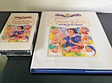 Snow White and the Seven Dwarfs Disney's Making of Classic Film Book + VHS Tape