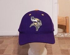 Logo Athletic Minnesota Vikings Wool Blend Adjustable Size Hat LN