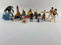 Disney Princess Mini Figure Bundle princesses aladin frozen Etc
