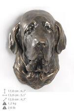 Fila brasileiro dog statuette to hang on the wall, Art Dog , Ca