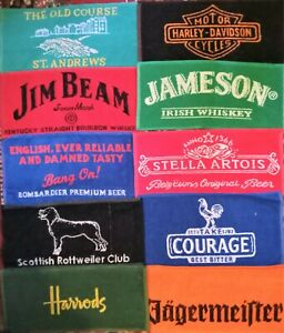 10 Different Beer - Bar Towels -  NEW Lot 2
