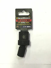 "GearWrench 12MM Universal Impact Metric Socket 1/2"" Drive 6 Point 84612"