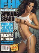 FHM Magazine August 2006 Amanda Beard 072517nonjhe