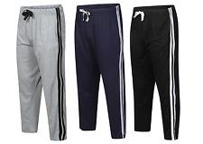New Mens Boys Night Wear Pyjama Bottom Plain Lounge Wear Stripped Pants Trousers