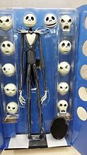 The Nightmare Before Christmas Jack Skellington 15″ Figure 12 Skull Heads Toys