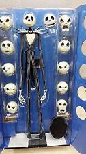 """Der Alptraum vor Weihnachten Jack Skellington 15 """"Figure 12 Skull Heads Toys"""