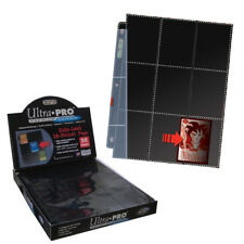 50 18-Pocket Side-Load Black-backed Pages Ultra Pro Premium Card Storage Box