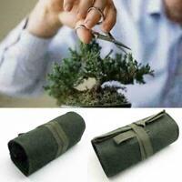 Bonsai Tools Aufbewahrungstuch Paket Rolltasche Canvas Werkzeugkoffer