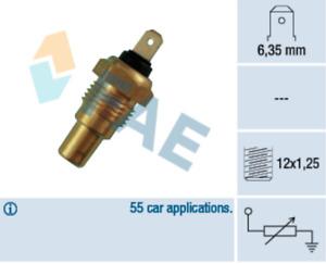 Coolant Temp Sensor 31580 for NISSAN PATROL GR IV 4.2 Cat V Wagon 2.8 TD TDi HQ