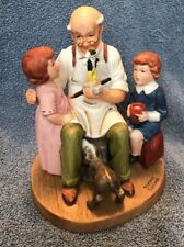 Norman Rockwell The Toy Maker 1981 Figurine